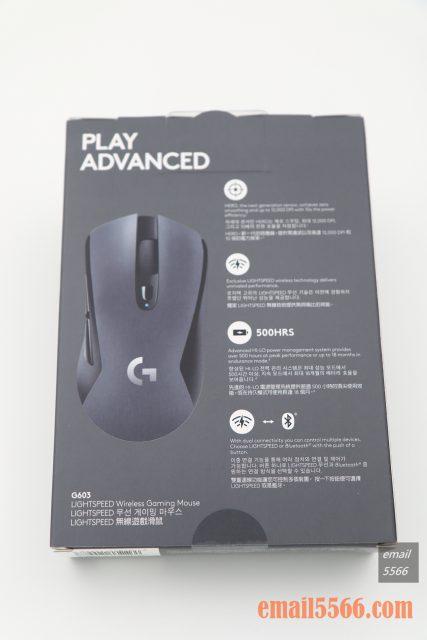 羅技 Logitech G603-背面包裝 logitech g603 羅技 Logitech G603 無線遊戲滑鼠 開箱-1490、CP高、1000 Hz、2.4G/藍芽 IMG 5091 427x640