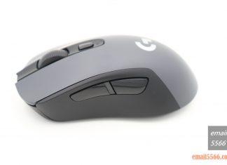 羅技 Logitech G603-左側有兩顆巨大的側鍵