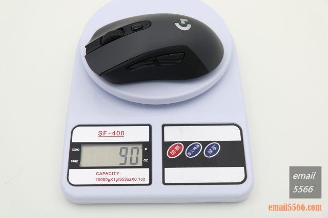 羅技 Logitech G603-僅滑鼠 90克 logitech g603 羅技 Logitech G603 無線遊戲滑鼠 開箱-1490、CP高、1000 Hz、2.4G/藍芽 IMG 5112 640x427