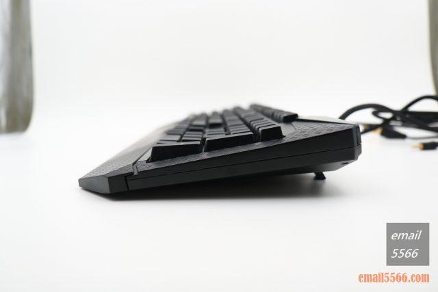 TESORO 鐵修羅 杜蘭朵劍 幻彩版 機械鍵盤-墊起腳墊 符合人體工學