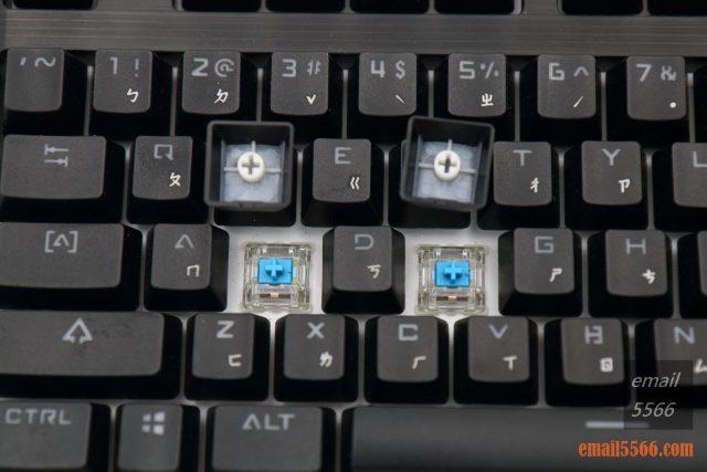 TESORO 鐵修羅 杜蘭朵劍 幻彩版 機械鍵盤-櫻桃RGB的青軸