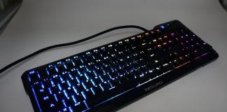 TESORO 鐵修羅 杜蘭朵劍 幻彩版 機械鍵盤 開箱-RGB