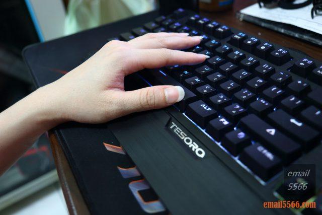 TESORO 鐵修羅 杜蘭朵劍 幻彩版 機械鍵盤 開箱-Elly 心得