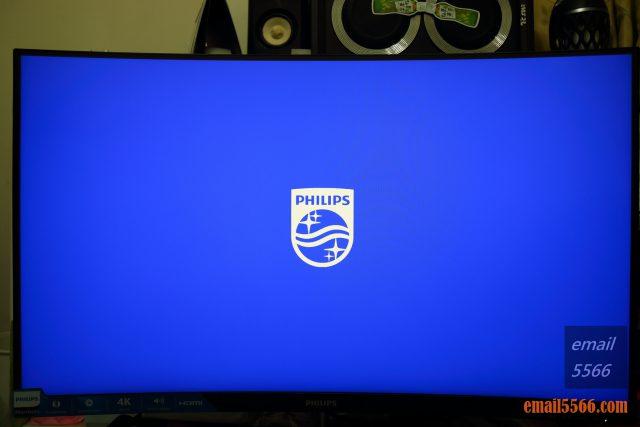 PHILIPS 飛利浦32吋曲面4K高畫質顯示器開箱-PHILIPS LOGO為藍底白字 philips PHILIPS 飛利浦 328E1C 32吋曲面4K高畫質顯示器開箱-Ultra HD 4K、VA、1500R IMG 5322 640x427