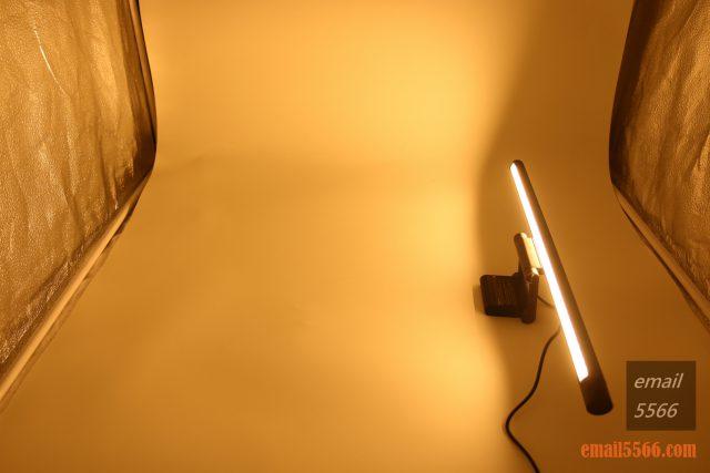 護眼掛燈-Baseus 倍思 i-沃可掛燈-暖光(2900K)、亮度最大