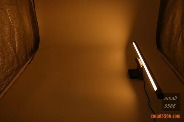 護眼掛燈-Baseus 倍思 i-沃可掛燈-暖光(2900K)、亮度最小