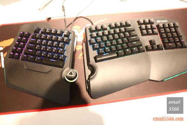 2020 iRocks 新品體驗會-K89M 人體工學分離式鍵盤