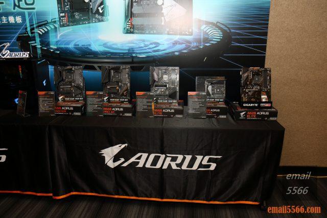 2020 AORUS x AMD 玩家體驗會-現場擺設