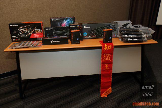 2020 AORUS x AMD 玩家體驗會-抽獎獎品