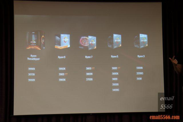 2020 AORUS x AMD 玩家體驗會-2020 第3季 最新 AM4 3600/3800/3900 XT系列