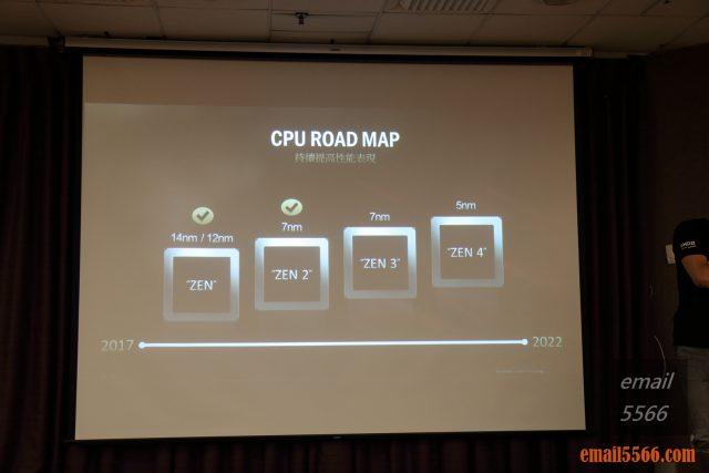 2020 AORUS x AMD 玩家體驗會-AMD ZEN架構 排程