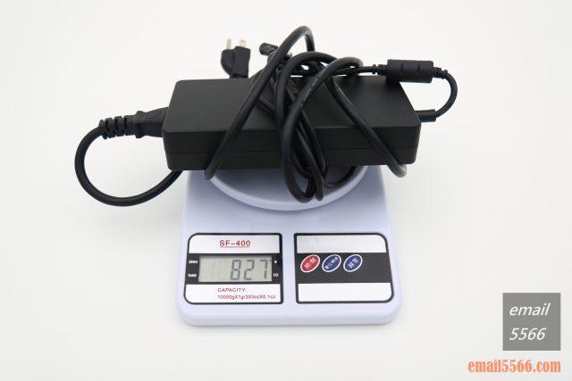 XPG XENIA女武神薩尼亞 電競筆電 1660Ti 開箱-230W變壓器 827g