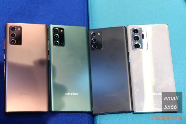 Galaxy Note20 5G 旗艦體驗