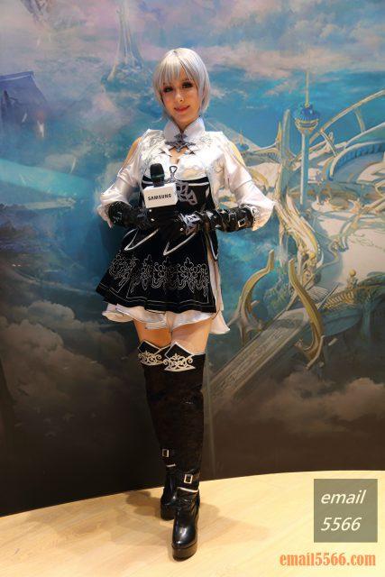 Galaxy Note20 5G 旗艦體驗-cosplay 殺氣