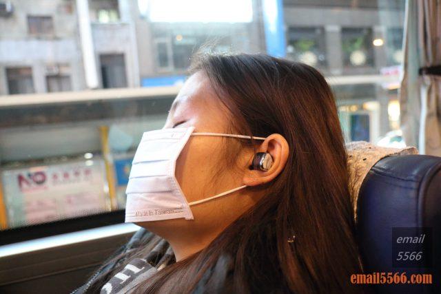 MSI微星CH40 藍芽耳機-Elly 實際配戴