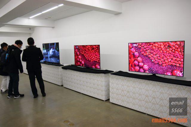驚艷6原色 色彩極致之美 Panasonic HX750/900、HZ1500 電視體驗會-A區是畫質爭霸賽