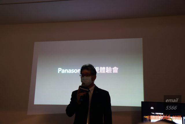 驚艷6原色 色彩極致之美 Panasonic HX750/900、HZ1500 電視體驗會-Panasonic 台灣松下商品本部大物家電商品中心 徐處長