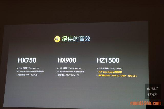 驚艷6原色 色彩極致之美 Panasonic HX750/900、HZ1500 電視體驗會-絕佳的音效