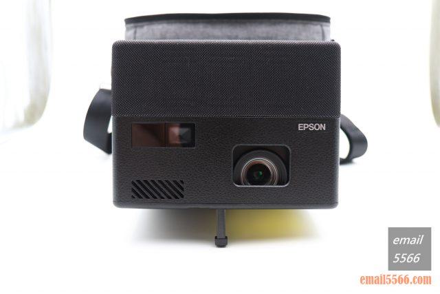 全球最小3LCD 雷射投影機 Epson EF12-天花板前投、無線投影、Android TV、自動對焦/水平垂直梯型修正-投影機本體正側
