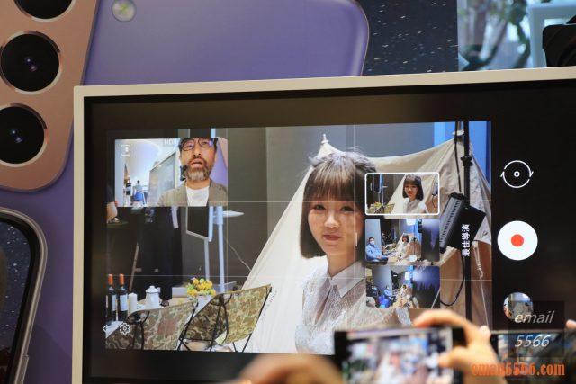 2021 Galaxy S21 5G旗艦系列手機體驗會-Pro級攝影、高解析高螢幕更新-所有鏡頭 一起預覽
