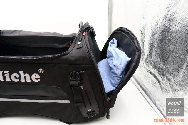 樂奇重機可變形後尾包-重機露營旅行袋-兩側置物袋