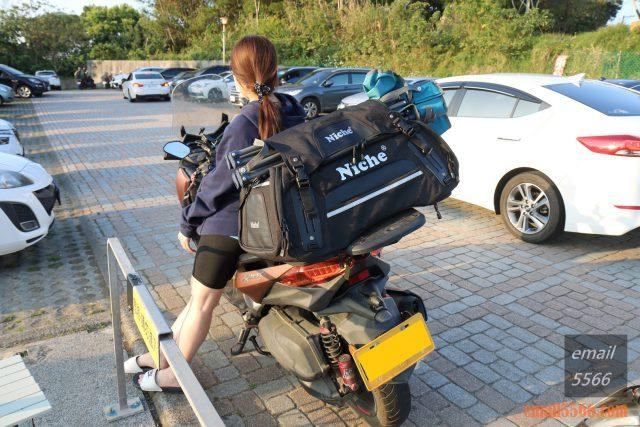 樂奇重機可變形後尾包-重機露營旅行袋