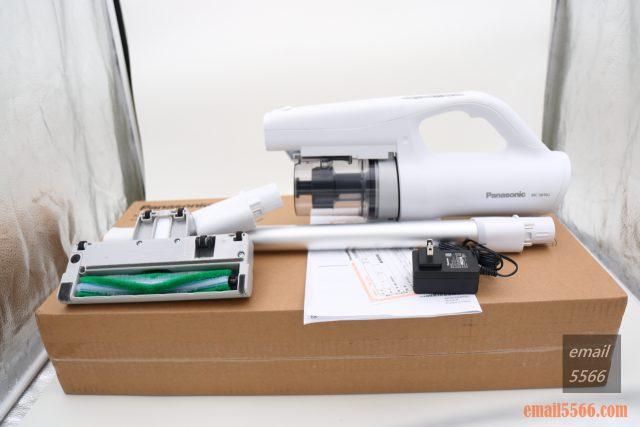 Panasonic MC-SB30J 無線吸塵器-極致輕巧1.6kg、女性/小朋友 輕鬆打掃-吸塵器、二合一V型刷毛吸頭、縫隙吸頭、說明書