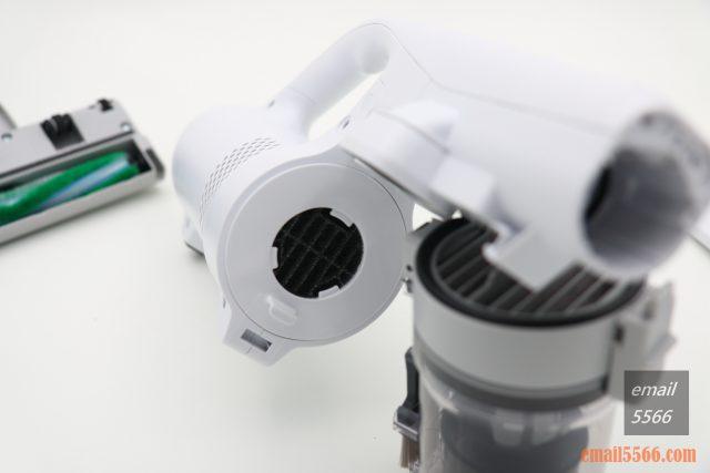 Panasonic MC-SB30J 無線吸塵器-極致輕巧1.6kg、女性/小朋友 輕鬆打掃-怕真空馬達吸入灰塵,還加一道濾網,保護主機