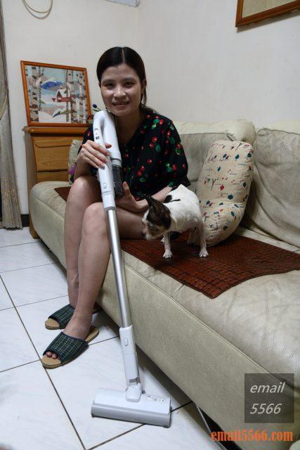Panasonic MC-SB30J 無線吸塵器-極致輕巧1.6kg、女性/小朋友 輕鬆打掃-適合小家庭、毛孩子