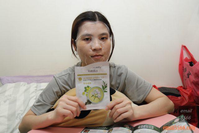 氧顏森活森果面膜系列茶面膜 回復年青的自己-珍珠花阿里山玉露青春面膜