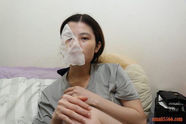 氧顏森活森果面膜系列茶面膜 回復年青的自己-鳶尾花日月潭紅玉抗痕面膜