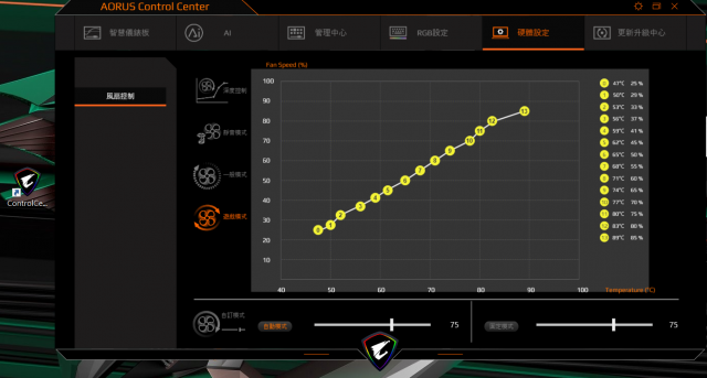 技嘉 AORUS 15P 極速神鷹 電競筆電 開箱-3080顯卡電競、360Hz螢幕更新-AORUS Control Center 應用程式 硬體設定
