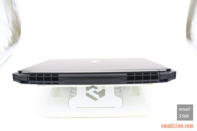 技嘉 AORUS 15P 極速神鷹 電競筆電 開箱-3080顯卡電競、360Hz螢幕更新-筆電尾端