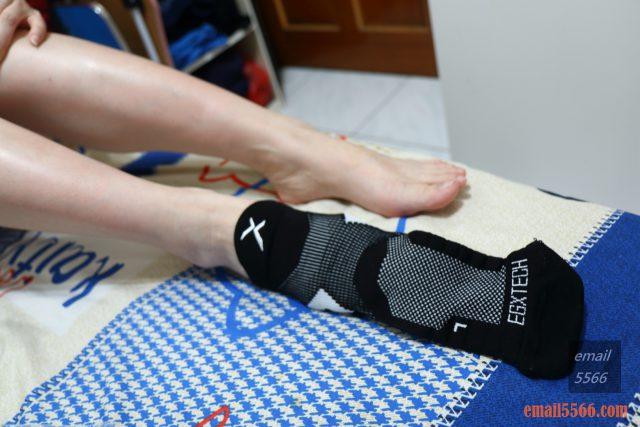 運動推薦 中筒繃帶籃球襪 -EGX衣格服飾 為運動而生-腳背大面積透氣設計,保持熱氣不悶熱