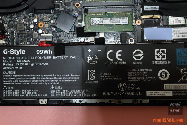 技嘉 AORUS 15P 極速神鷹 電競筆電 開箱-3080顯卡電競、360Hz螢幕更新-99Wh 充電式鋰電池