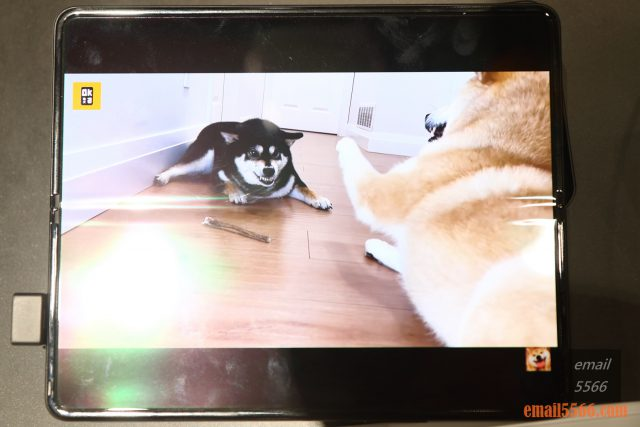 2021 三星最新旗艦摺疊Galaxy Z Fold3/Flip3 雙旗艦體驗會-Galaxy Z Fold3 內螢幕鏡頭藏在顯示畫面